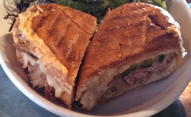 duck confit cubano sandwich