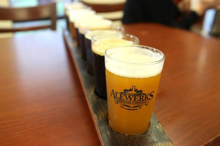 Photo via AleWerks Brewing Company