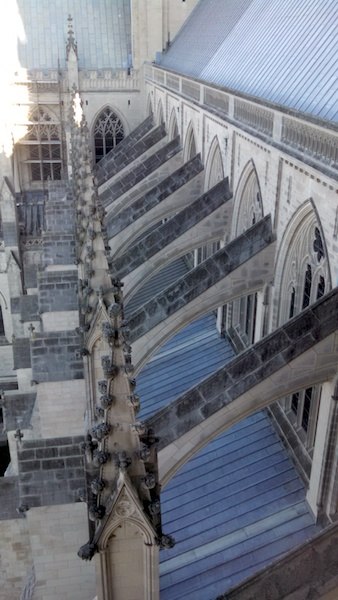 Nat Cathedral flying buttresses