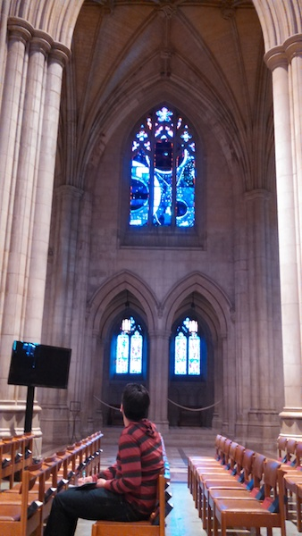 Nat Cathedral Space Window