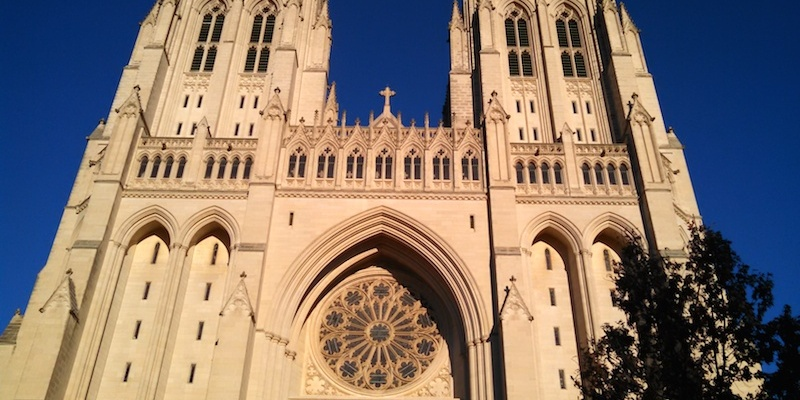 National cathedral washington dc front
