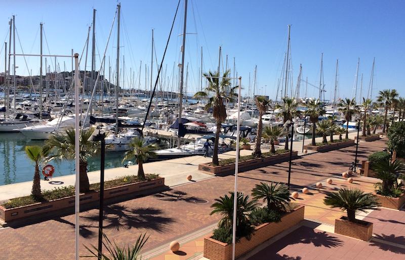 denia marina view of boats