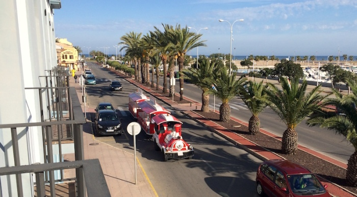 tourist train denia spain