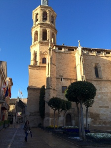 valdepenas city cathedral