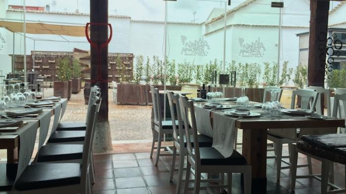 valdepenas los llanos restaurant interior