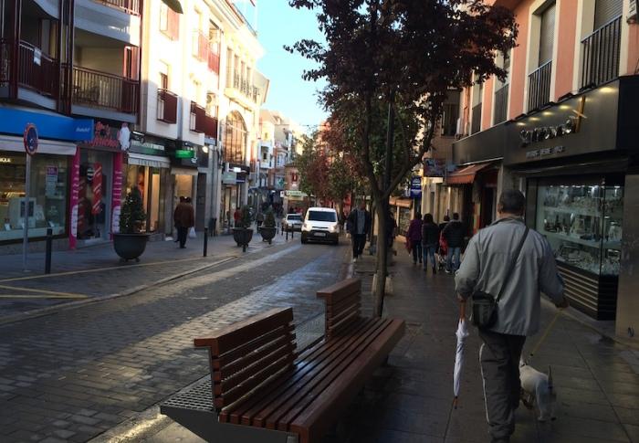 valdepenas city street