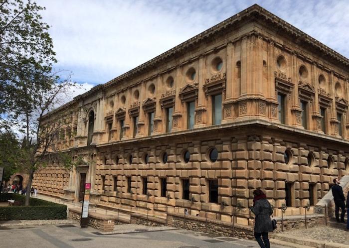 exterior palace of charles V