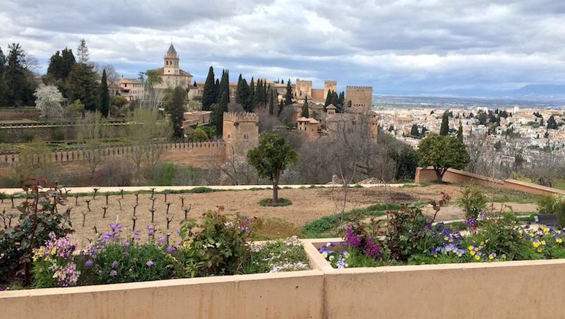 vineyard gardens generalife alhambra granada