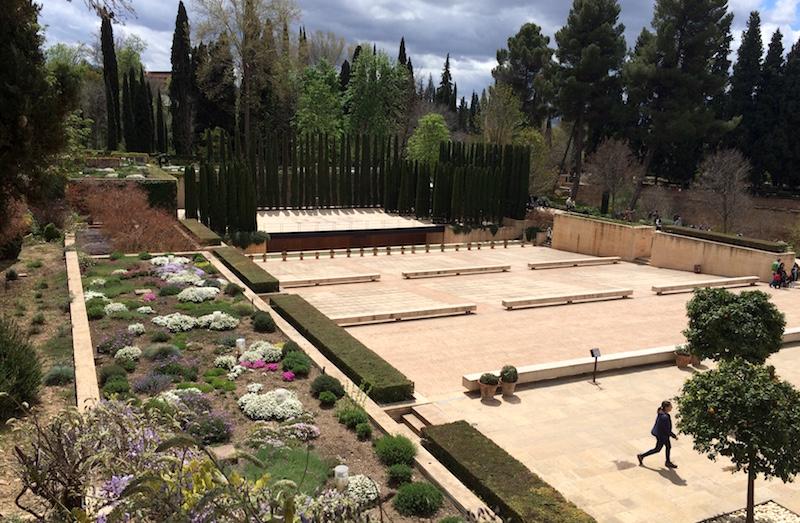 generalife theatre alhambra granada spain