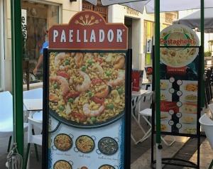 Paellador street sign