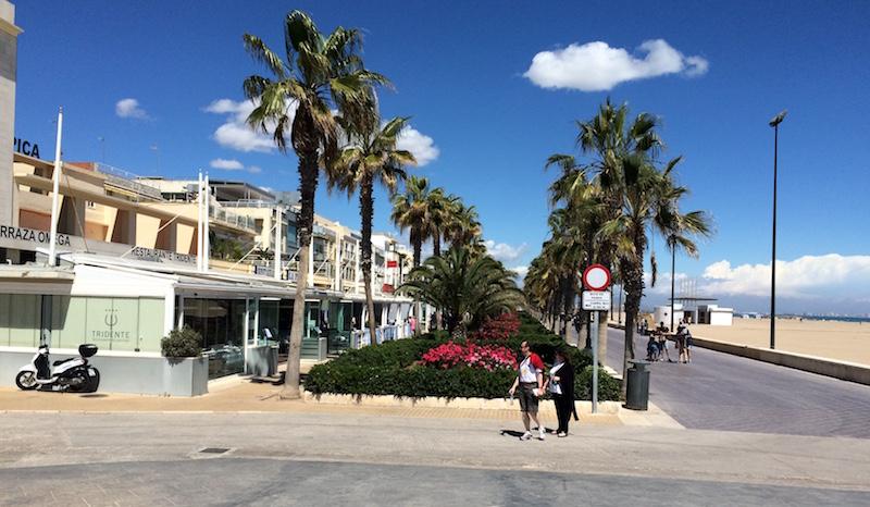 paella restaurants playa las arenas valencia