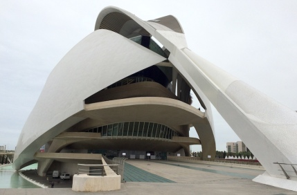 Opera house Valencia City of Arts Sciences