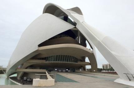 Opera house Valencia City of Arts Sciences