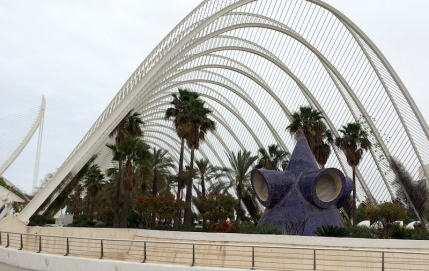 L'Umbracle Valencia City of Arts Sciences
