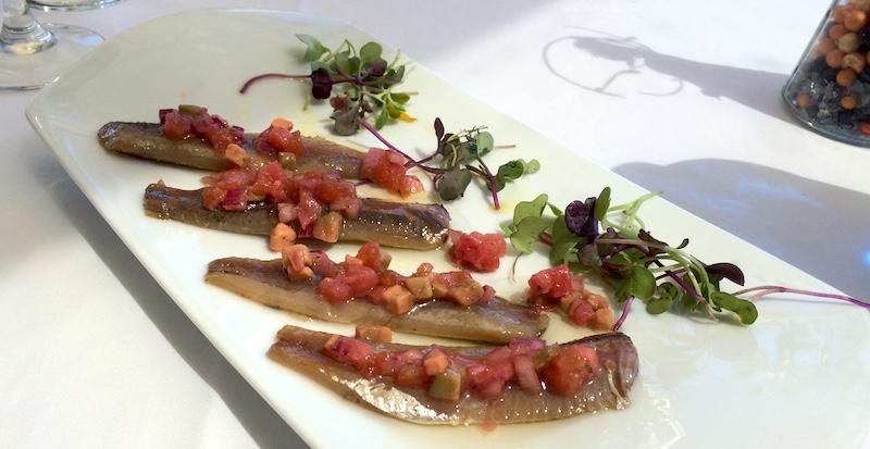 plate smoked sardines la marcelina spain