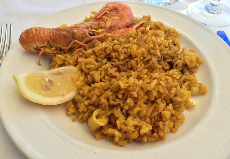 seafood paella valencia spain