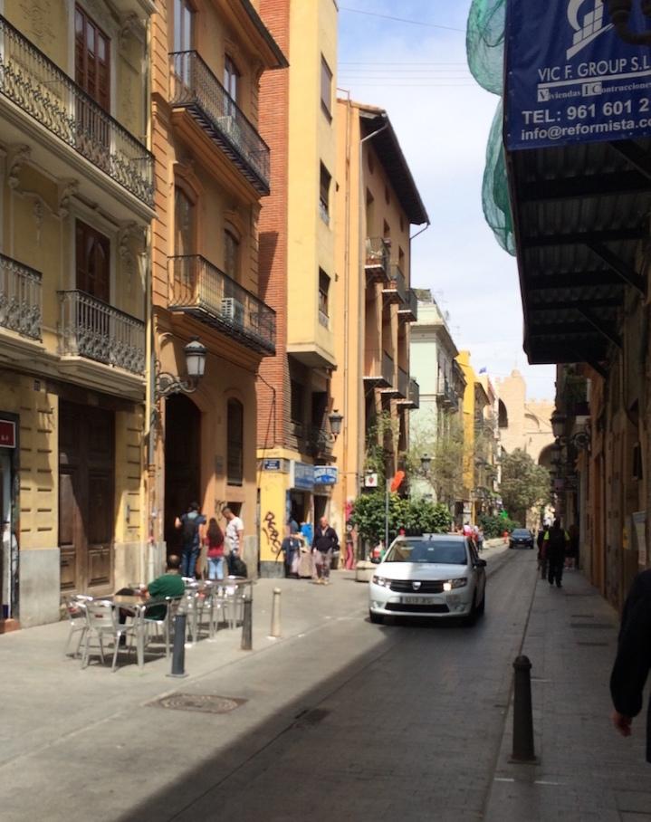Valencia spain street