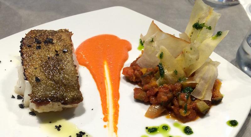 Tributo Valencia grilled cod bacalao plancha