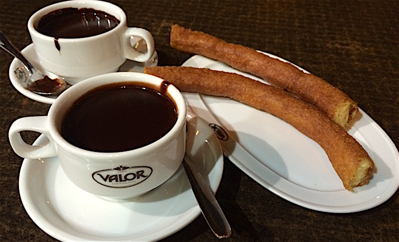 chocolate churros chocolateria valor valencia