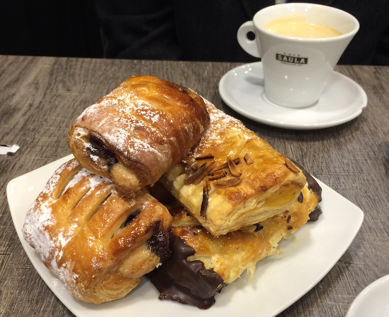 pastry and cafe pannus atocha madrid spain