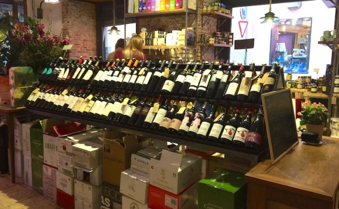 alimentacion quiroga wine shop madrid spain