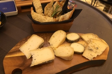 cheese plate Tablafina madrid spain