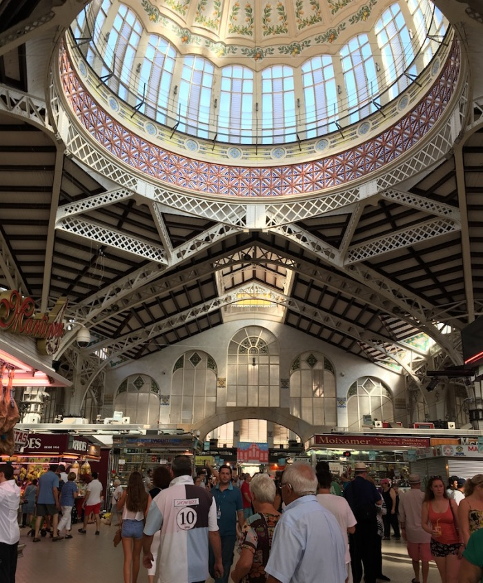 glass iron dome valencia spain market