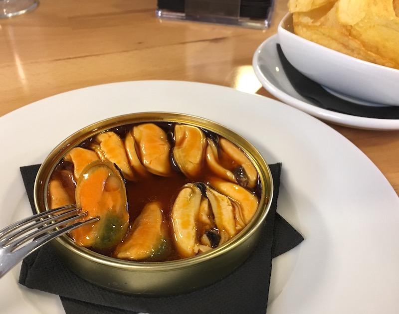 mussels Jibs Gastrobar Valencia Spain
