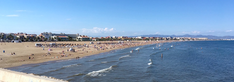 valencia beach spain