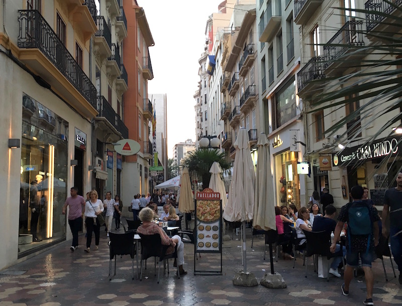 Carrer de Don Juan de Austria Valencia Spain