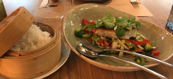 Steamed Fish Ma Khin Cafe Valencia