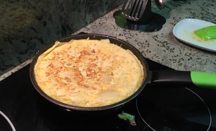 Reshape the tortilla