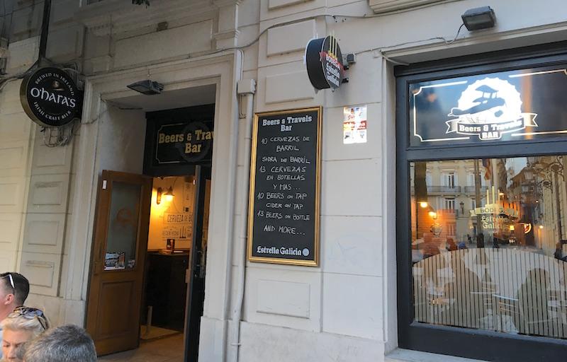 beers travels bar valencia spain