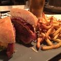 Portland Alehouse burger