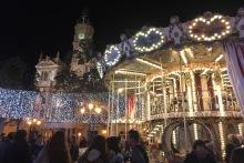 Christmas Carousel Ayuntamiento Valencia