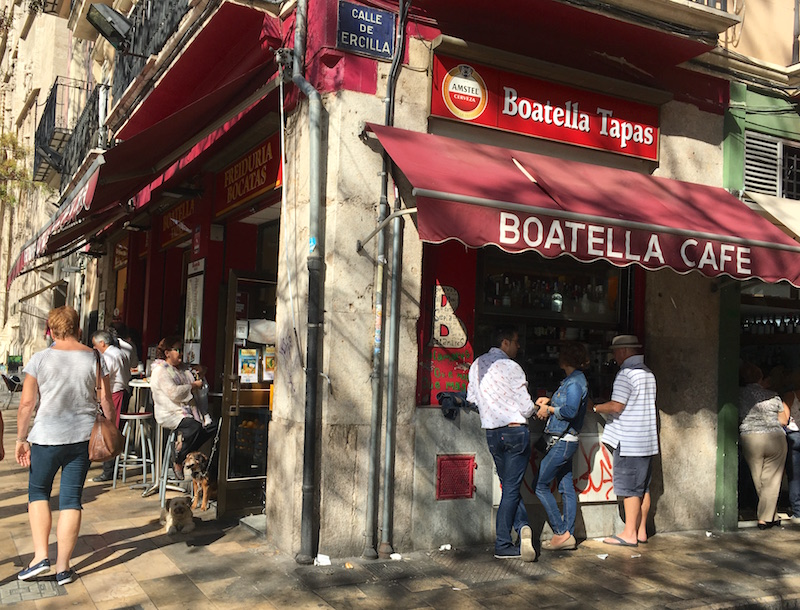 Boatel Tapas Valencia Spain