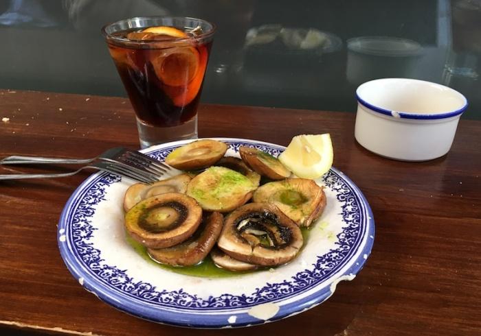 Grilled Mushrooms Tasquita La Estrecha