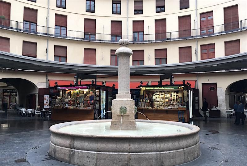 Plaza Redonda Valencia Spain