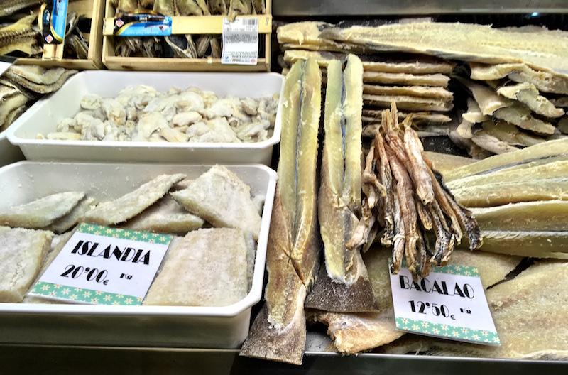 Bacalao Salt Cod Valencia Spain