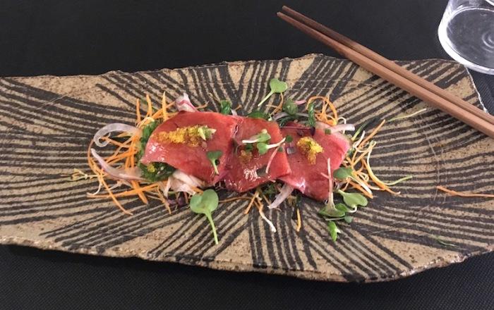 Ventresca sashimi Kamon Valencia Spain