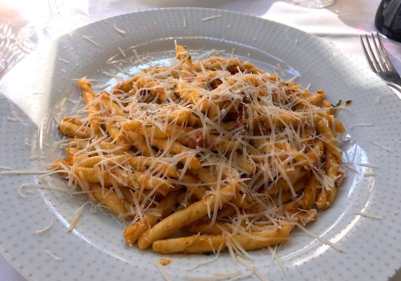 Pesto Ligure pasta Lambrusqueria Valencia Spain