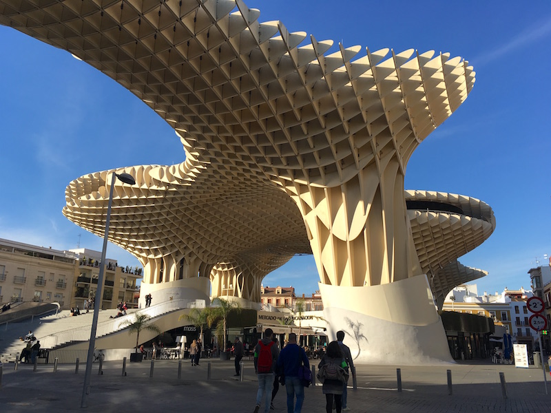 Las Setas Metropol Parasol Sevilla Spain