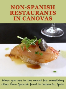 Non-Spanish Restaurants Valencia Spain Pin This