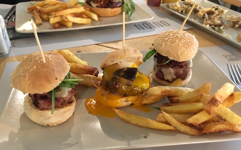Sliders Burgers Onion Burgerstudio Valencia
