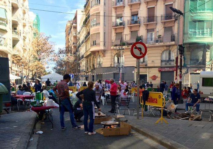 Falleros Paella Party