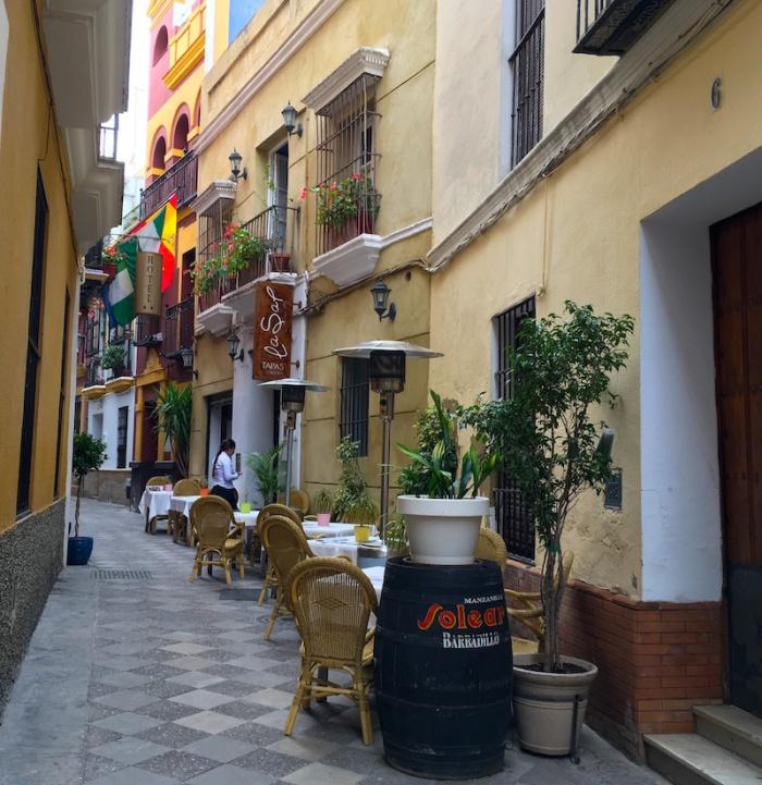 Taberna La Sal Terrace Seville Spain