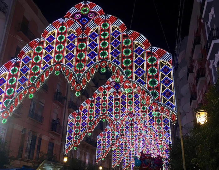 Lights Calle Sueca inside