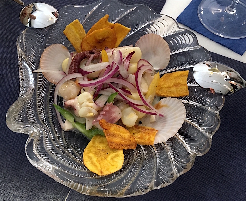 ceviche octopus scallop crudo bar spain