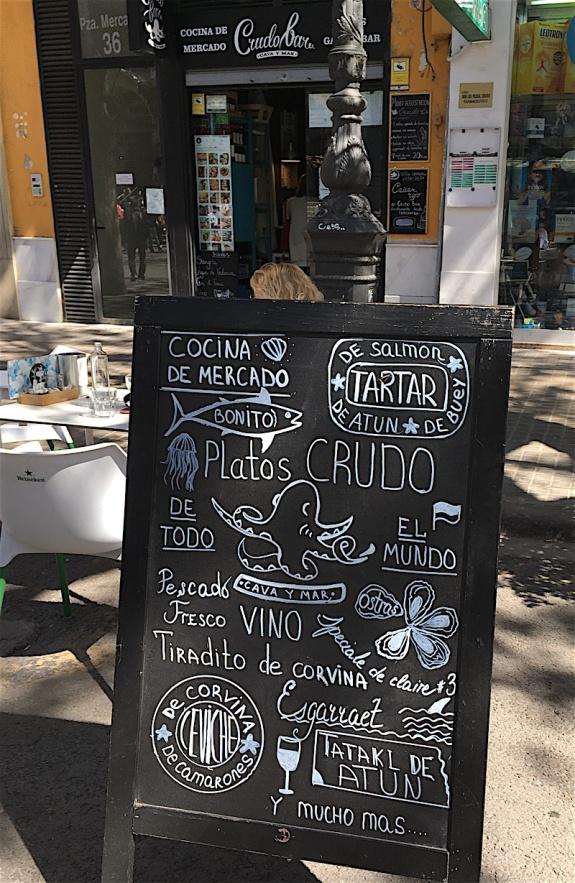 Crudo Bar Board