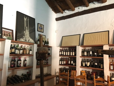The Museum room at Vera de Estenas